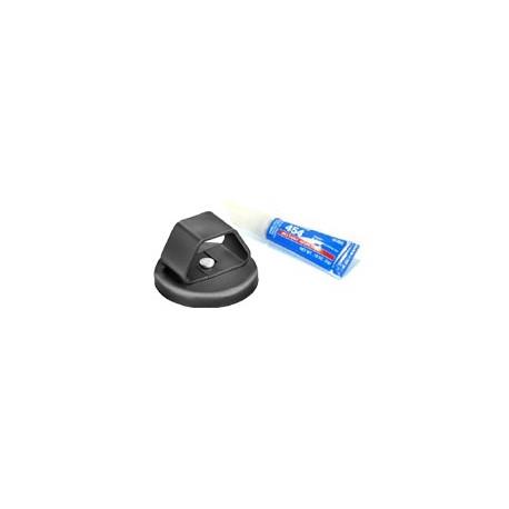 DSC-560B Glue-On Disc with Loop Fastener/Adhesive