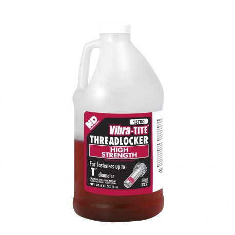 Vibra-Tite 13700 Threadlocker High Temp/High Strength 1 L
