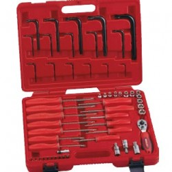 Genius Tools TX-2356 56PC Complete Star Type Wrench Set
