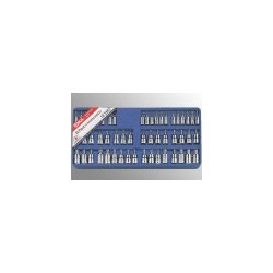 "Genius Tools TX-2353 53PC 1/4 & 3/8"" Dr. Complete Bit Socket Set"