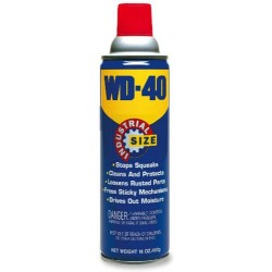 WD-40 10116 Multi-Use Spray, Industrial Size (16 Oz)