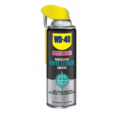 WD-40 300240 Specialist White Lithium Grease 10 Oz