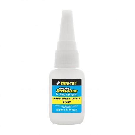 Vibra-Tite 37320 Cyanoacrylate Rubber Bonder - Gap Filling 20 gm