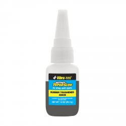 Vibra-Tite 38828 Cyanoacrylate Rubber Toughened - Close Fitting 1 oz