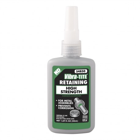 Vibra-Tite 54850 Retaining Compound Rapid Curing 50 mL