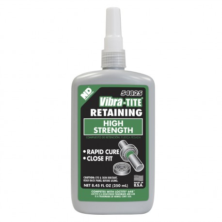 Vibra-Tite 54825 Retaining Compound Rapid Curing 250 mL