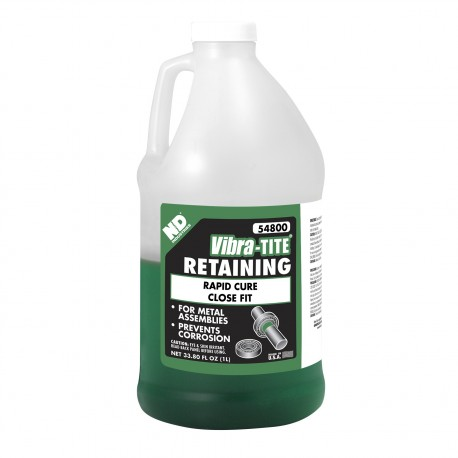 Vibra-Tite 54800 Retaining Compound Rapid Curing 1 L