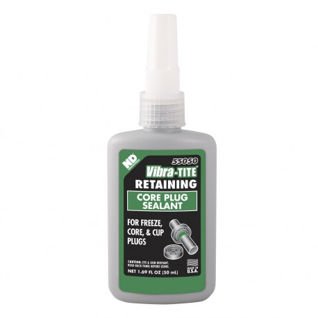 Vibra-Tite 55050 Retaining Compound Core Plug Sealant 50 mL