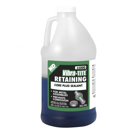 Vibra-Tite 55000 Retaining Compound Core Plug Sealant 1 L