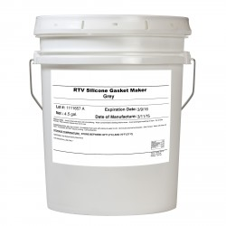 Vibra-Tite 99991 Silicone Grey RTV Silicone Gasket Maker 4.5 gal