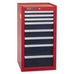 "Genius Tools TS-748 8 Drawer Side Cabinet 18"" x 18-3/4"" x 37-1/16"""