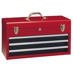Genius Tools TS-123 3 Drawers Tool Chest