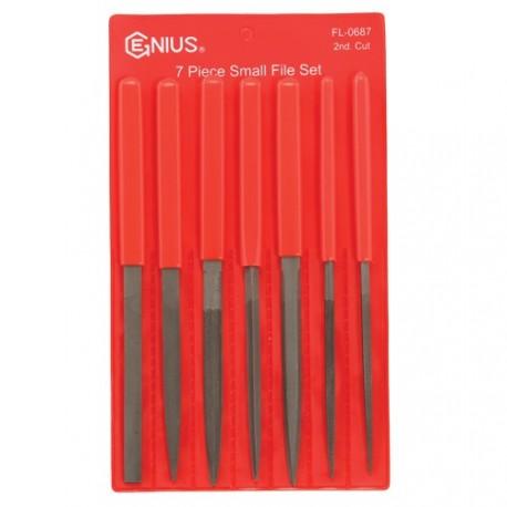 Genius Tools FL-0687 7PC Small File Set