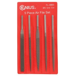 Genius Tools FL-0865 5PC Air File Set