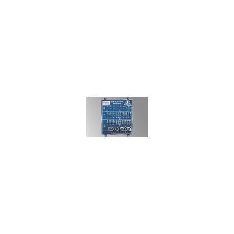 "Genius Tools GS-234105M 105PC 1/4,3/8 & 1/2"" Dr. Sockets Display Board"