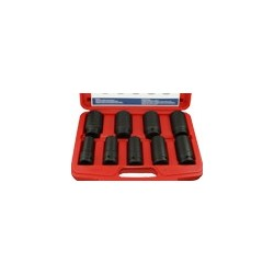 "Genius Tools IS-609DE 9 pc.3/4""Dr. Deep Metric Impact Socket Set"