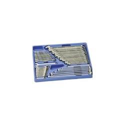 Genius Tools MS-044M 44PC Metric Combination Ratcheting Wrench Set