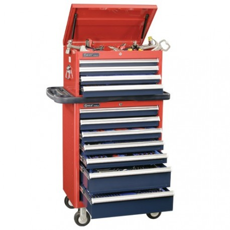 Genius Tools MS-480TS 480PC Metric Masters Tool Set with Roller Cabinet