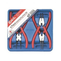 Genius Tools RP-5504 4PC Retaining Ring Pliers Set