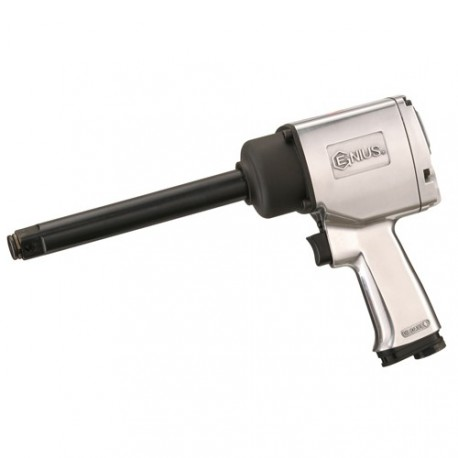 "Genius Tools 600856 3/4"" Dr. Super Duty 6"" extended-anvil Lightweight Air Impact Wrench"