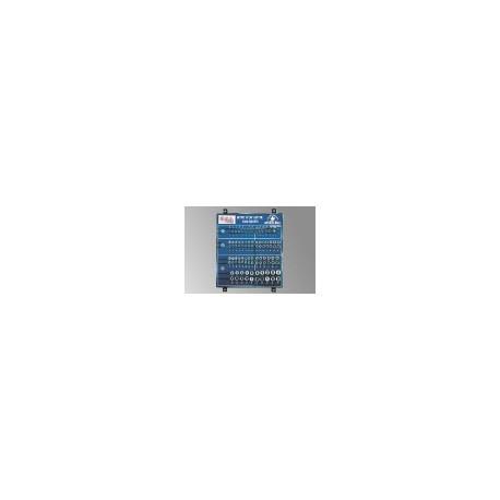 "Genius Tools SW-234105M 105PC 1/4,3/8 & 1/2"" Dr. Sockets Display Board"