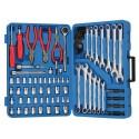 """Genius Tools AC-23117 117PC 1/4"""" & 3/8"""" Dr. SAE & Metric Master Set"""