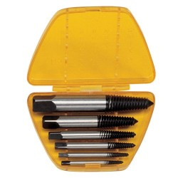 Genius Tools AT-EX6 6PC Screw Extractor Set