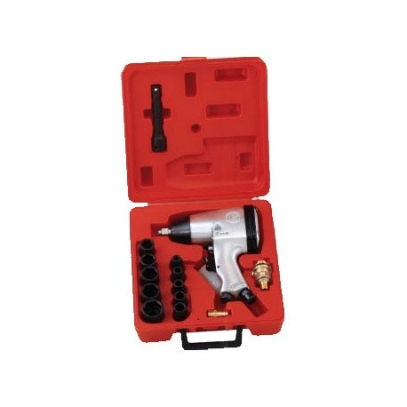 "Genius Tools TF-416S1 16PC 1/2"" Dr. SAE Impact Wrench Set 230ft-lb/312 Nm"