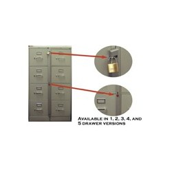 "MKL-1 Abus One Drawer Cabinet Lock - 11"" (28 cm)"