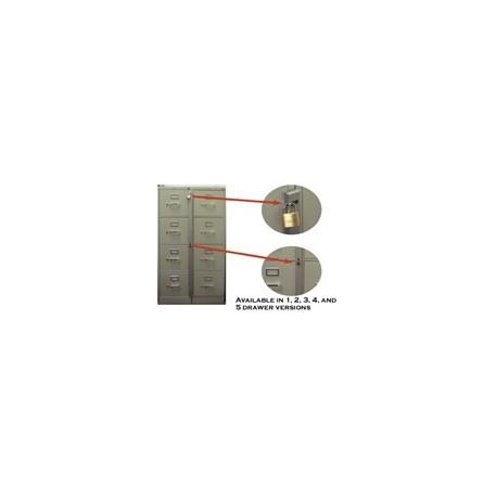 "MKL-3 Abus Three Drawer File Cabinet Bar - 34"" (85cm)"