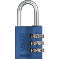 145/30 C Aluminum Abus 3-Dial Resettable Padlock