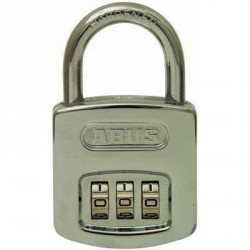 160/40 Abus Resettable Combination Padlock