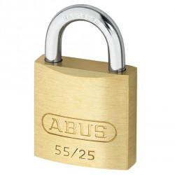 55/25 Abus Economy Solid Brass Padlock