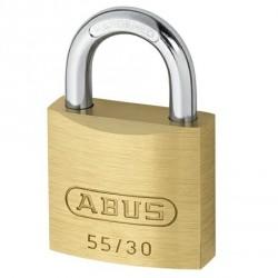 55/30 Abus Economy Solid Brass Padlock