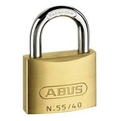 55/40 Abus Economy Solid Brass Padlock