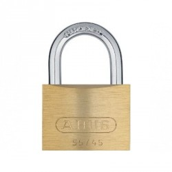 55/45 Abus Economy Solid Brass Padlock