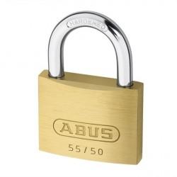 55/50 Abus Economy Solid Brass Padlock