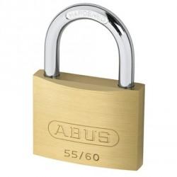 55/60 Abus Economy Solid Brass Padlock
