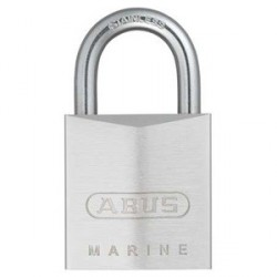 75IB/30 Abus Weather Resistant Solid Brass Marine Padlock with Dimple Key