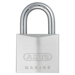 75IB/40 Abus Solid Brass Weather Resistant Marine Padlock with Dimple Key