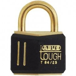 T84MB/20 Abus Black Gold Solid Brass Padlock
