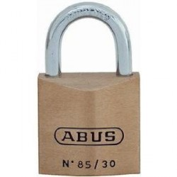 85/30 Abus Premium Solid Brass Padlock, Keyed Different