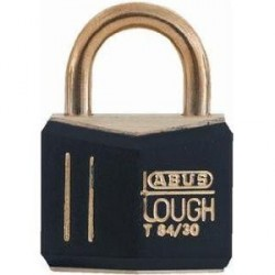 T84MB/30 Abus Black Gold Solid Brass Padlock
