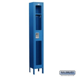 Salsbury Assembled See Through Metal Locker One Wide