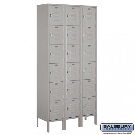 Salsbury Assembled Box Style Metal Locker Three Wide
