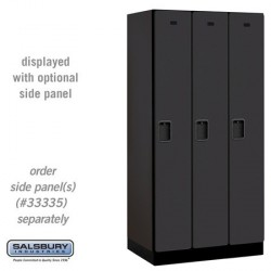 Salsbury Designer Wood Locker - Single Tier - 3 Wide - 6 Feet High