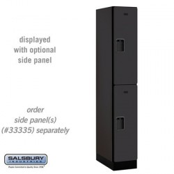 Salsbury Designer Wood Locker - Double Tier - 1 Wide - 6 Feet High