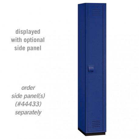 Salsbury Heavy Duty Plastic Locker - Single Tier - 1 Wide - 6 Feet High - 18 Inches Deep