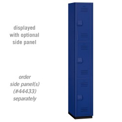 Salsbury Heavy Duty Plastic Locker - Triple Tier - 1 Wide - 6 Feet High - 18 Inches Deep