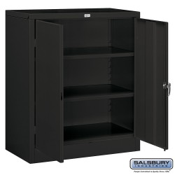 Salsbury Storage Cabinet - Counter Height - 42 Inches High - 18 Inches Deep